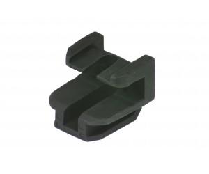 Adaptateur du rail de guidage, pour porte-bagages 8 mm