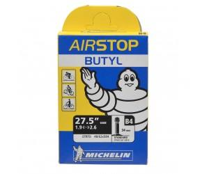 "Ch. à air Michelin B4 Airstop 27.5"", Schrader 34mm"