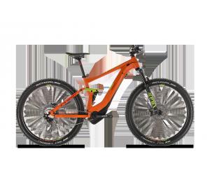 STEREO HYBRID 120 RACE 500Wh orange'n'green