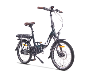 VG British Folding Electric Bike - Green (11Ah/15Ah)