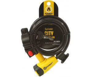 Antivol AUVRAY Spirale CITY D.8 150cm + Support