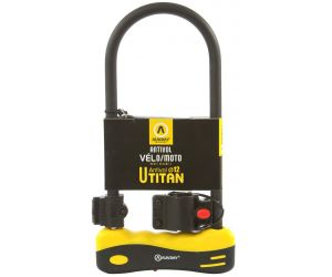 Antivol AUVARY U TITAN 165X320 D.12mm avec Support