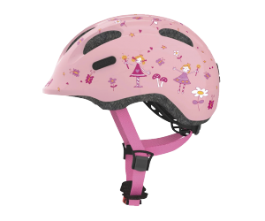 CASQUE ABUS SMILEY 2.0  S (45-50CM) ROSE PRINCESS