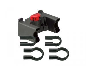 fix.panier klickfix (SANS serrure) pour cintre 22-26mm - 31.8mm + 2 COLLIERS  (pas compatible console central)