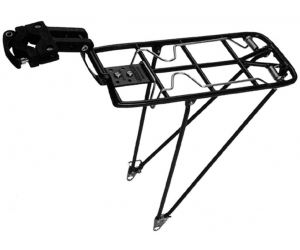 """Porte-bagages Pletscher Quick Rack 330/363mm, noir, 28""""/29"""""""