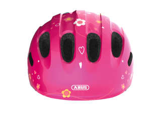 Casque ABUS enfant Smiley 2.0 - Pink butterfly