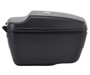 Topcase Touring noir, 35x27x21,5cm, 14 litres, avce clé