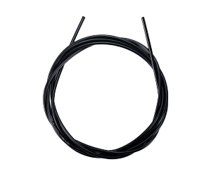 """Gaine de frein lubrifiée noire \""""StopLine\""""Gaine de frein en spirale avec corps lubrifié.1m x 5mmCouleur noir"""