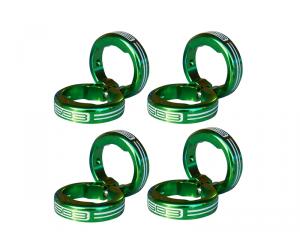SB3 Kit de lock on pour grips - Vert