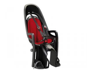 SIEGE ENFANT HAMAX ZENITH P-BAGAGES GRIS/ROUGE FIXATION PORTE-BAGAGES