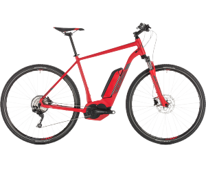 CROSS HYBRID PRO 400 ou 500Wh red'n'grey