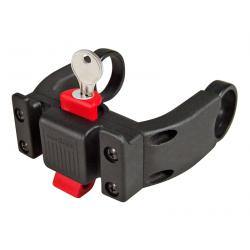 Upright Handlebar Fixation with KLICKFIX Lock