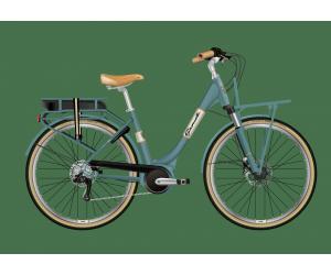 granville e-premium summerside bosch active+/400wh blue green lady S