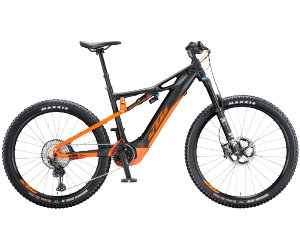 ktm macina kapoho 2971 black matt (orange) 12 + pT-CX6K6 powertube t.L (53cm)