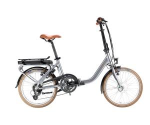 Vélo électrique pliant GITANE eNOMAD 2021 Moteur roue avant TRANZX Batterie 400Wh