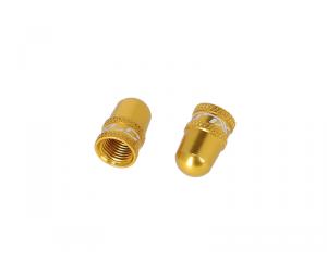 bouchon de valve XLCvalve Dunlop / valve Schrader, doré
