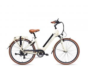 "velo beaufort 700C comuto  lady 49cm roue 28\"" moteur ar bafang  GRIS/GRIGIO"