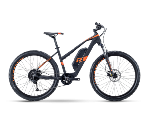 "HarRay E-Seven 2.0 Lady 27.5""x45cm Black/Magma - 400Wh"