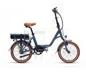 """velo beaufort Ascento foldable pliant grigio / gris batterie 468wh 13ah 36v moteur central bafang a courroie roue 20\"""" nexus 7"""
