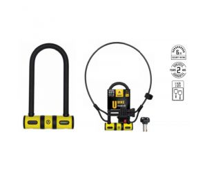 antivol u bike 82X147 + support + Câble D8X100