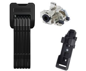Antivol ABUS BORDO 6405/85cm + Support SH + Adaptateur BLO BOS DT2 PLUS