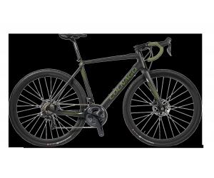 vélo e-Gravel/ shimano 815 di2 49s EGGR/ roues mavic FB19070663 Aksium black/ green