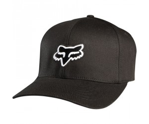casquette fox noir/logo petit blanc L/XLlegacy flefit hat
