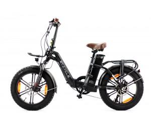 """vélo pliant ET CYCLE f1000 48v 21ah noir mat 20\"""""""