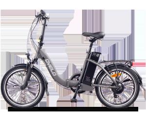 Vélo électrique pliant OVELO Gris 11Ah