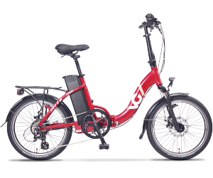 VG LAVIL Folding Electric Bike - Red (11/15Ah)