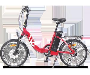 Vélo électrique pliant VG Lavil Rouge (13/17Ah)
