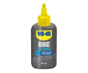 Huile pour chaîne Wet WD-40 BIKE 100 ml, conditions humides
